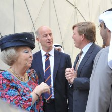 Frank Wouters with HM Willem Alexander King of the Netherlands and HM Beatrix, former Queen of the Netherlands 2012